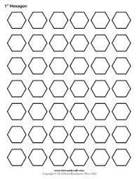 printable pentagon templates patchwork pinterest template