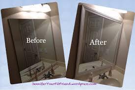 bathroom mirror frame jennifer your fit friend