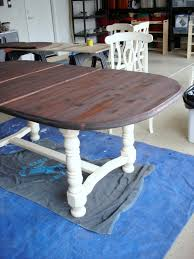 dining room table makeover noting grace