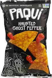 paqui haunted ghost pepper tortilla chips 5 5 oz walmart com