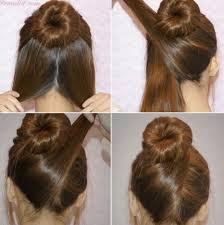model rambut sanggul simple hijab segi empat gaul hijab style 6
