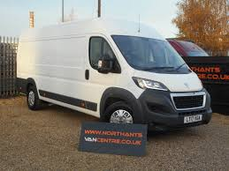 peugeot van boxer used peugeot vans for sale in wellingborough northamptonshire