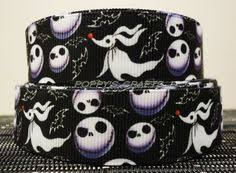 nightmare before christmas ribbon nightmare before christmas grosgrain ribbon by dgbootique