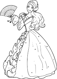 Barbie Coloriage Coloring Pages Of Barbie Awes 5701