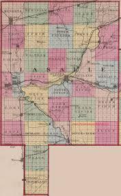 Illinois County Map Lasalle County Illinois 1870 Map
