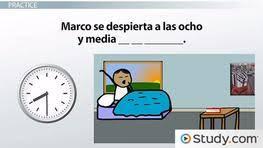 what time vs u0027 u0027at what time u0027 u0027 in spanish video u0026 lesson