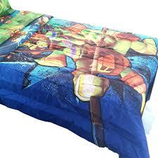 amazon com teenage mutant ninja turtles twin full bed comforter