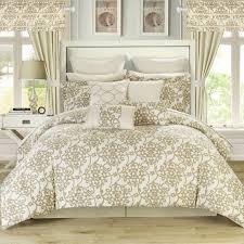 24 Piece Comforter Set Queen Twin Size Bed Comforters Walmart Com Your Zone Bedding Comforter