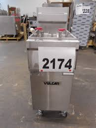 vulcan gr series deep fryer scratch u0026 dent restaurant cooking