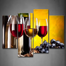 Wine Bottle Home Decor Online Get Cheap Oil Painting Wine Bottle Aliexpress Com