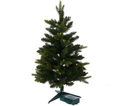 bethlehem lights noble spruce 30 stake tree page 1 qvc