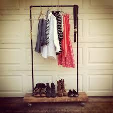 25 best ideas of black pipe clothing rack