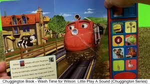 chuggington book wash wilson play sound