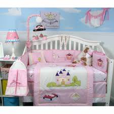 Girls Crib Bedding Boutique Royal Princess Baby 14 Piece Crib Bedding Set Walmart Com