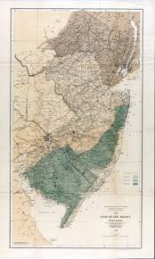 George Washington National Forest Map by New Jersey Historical Maps