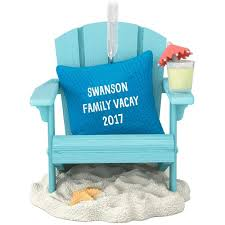vacation dreams personalized ornament personalized