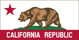 Flag Banner Clip Art Clipart California Banner Clipart B