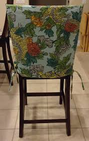chair back cover kitchen chair slipcover chair back cover by brittaleighdesigns