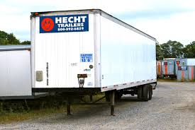 dock height trailers trailers storage containers trailer