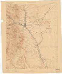 Colorado Springs Co Map by History Friends Of The Peak