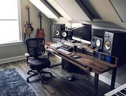 Recording Studio Desks Best 25 Studio Desk Ideas On Pinterest Plywood Desk Cherry