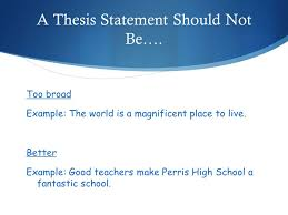 Definition     A thesis statement is the central idea of an essay     SlidePlayer