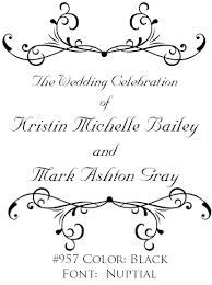 wedding program designs program cover clipart