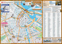 Chicago Hotels Map by Amsterdam Tourist Map New Zone