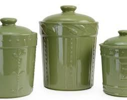 lime green kitchen canisters kitchen signature housewares sorrento ceramic oregano