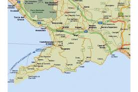 coast map amalfi coast tourist map and travel information