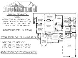 house plans with media room 4 bedroom 1 story house plans 2301 2900 square