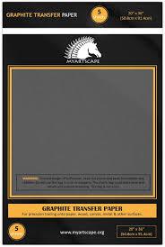 graphite transfer paper 18