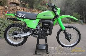 vintage motocross bikes kdx250 swingarm on tt500 yamaha xt500 tt500 forum