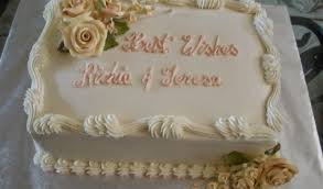 wedding sheet cake best rectangular wedding cakes cake decor food photos