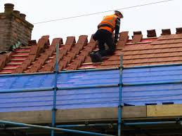 Roofing A House by Council House Re Roof Programme 2014 Houlton Quality