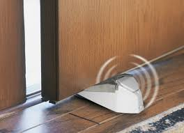 Laminate Flooring Doorway Ge Personal Security Door Stop Alarm 10 Ways To Burglar Proof