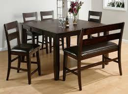 choosing dining room table with bench ideas for fun mealtime