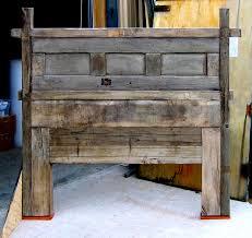 Reclaimed Wood Headboard Reclaimed Barn Wood Headboard Home Pinterest Barn Wood
