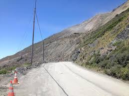 Big Sur Map Massive Landslide Buries Portion Of Highway 1 In Big Sur California