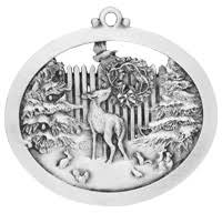 detailed pewter ornaments memories and traditions