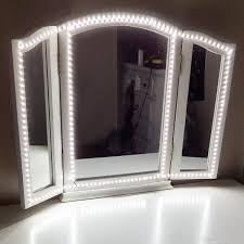 led vanity light strip 2018 led vanity mirror lights kit for makeup dressing table vanity