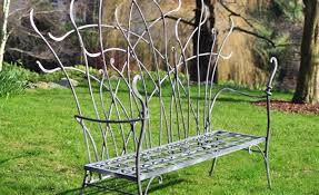 Antique Wrought Iron Patio Furniture For Sale by Bench Wonderful Lighting In Vintage Wrought Iron Patio Furniture