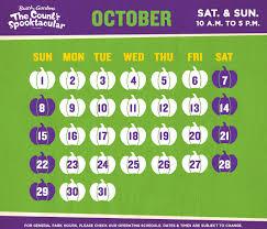 Busch Gardens Williamsburg Fall Fun Card - the count u0027s spooktacular kid friendly halloween event busch