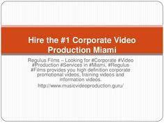 Miami Video Production Regulus Films Best Video Production Company Miami Fl Miami