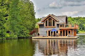 Lakeside Home Decor Rosseau Retreat Rustic Lakeside Cottage Morphed Into An Idyllic