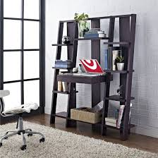 tiffany ladder desk bookcase espresso ameriwood home target