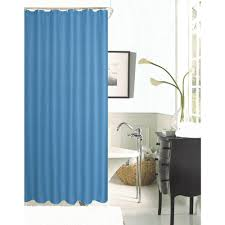 Spa Shower Curtain Hotel Collection Spa 251 Waffle 72 In River Blue Shower Curtain