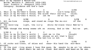 light of the world chords top 500 hymn this is my father s world lyrics chords and pdf