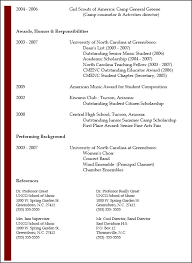 Example Of References On A Resume by Resume Typesbusinessprocess Examples Of Resumes