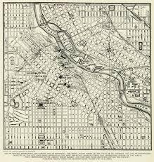 Minneapolis Neighborhood Map Vintage Street Map Minneapolis Minnesota From By Manyplacesmaps